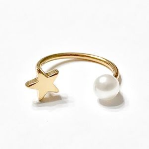 New Star Pearl Ring